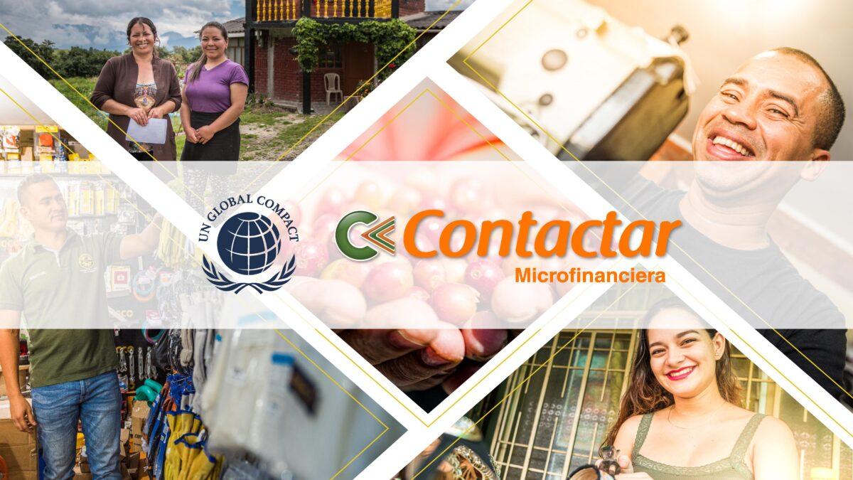 Contactar microfinanciera se adhiere a Pacto Global y es reconocida por las estrategias de sostenibilidad en pandemia